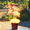 Brandschutzübung im Birkenhof