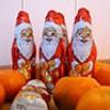 Der Nikolaus besucht die Bewohner