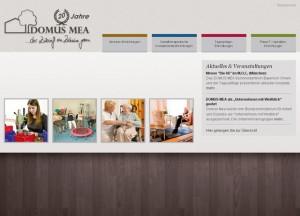 Die Seite informiert zu Wissenswertes über Therapie und Pflege.