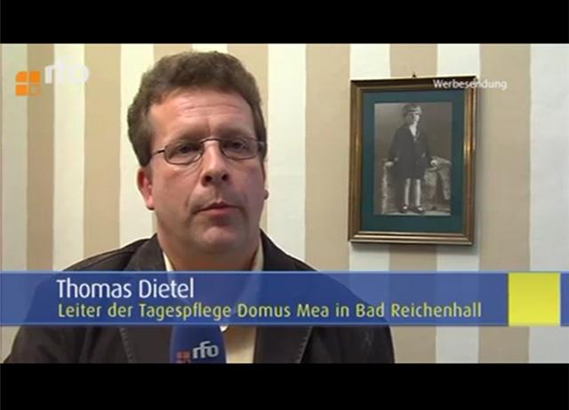 Thomas Dietel im rfo-Fernsehinterview