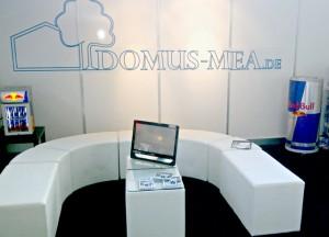 Domus-Mea-Stand auf der Ausbildungsmesse BIM in Salzburg