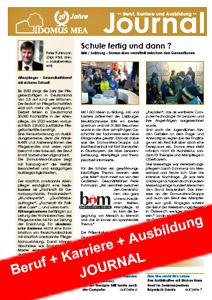Das Domus-Mea-Magazin rund um das Thema Beruf und Ausbildung