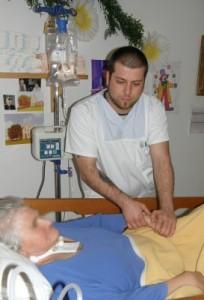 Kontrolle und intensive Pflege