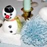 Buntes Schneetreiben und kalte Finger