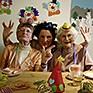 Senioren feiern Fasching in der Tagespflege