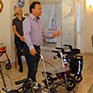 Rollator-Training in Bayerisch Gmain