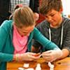 Schüler zu Besuch im Tittmoninger Seniorenzentrum