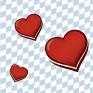 Gemütliches Beisammensein mit Brotzeit und Rosen am Valentinstag