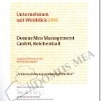 Auszeichnung vom Bundesministerium für Arbeit und Soziales