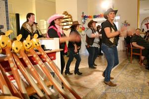 Line Dance im Seniorenzentrum Bayerisch Gmain