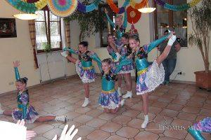 Kindergarde der Narrengilde Kraiburg im Seniorenpflegeheim Birkenhof