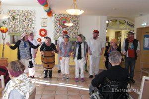 Faschingsfeier 2019 im Seniorenpflegeheim Birkenhof in Erharting