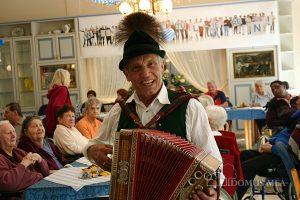 Albert Geierstanger sorgt für Stimmung auf dem Oktoberfest
