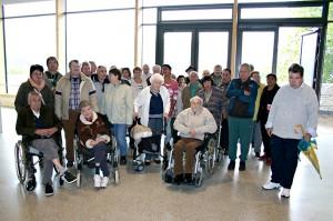 Das Seniorenzentrum Bayerisch Gmain besuchte am 18. September 2013 das Haus der Berge