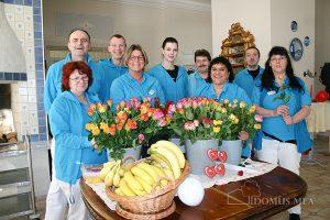Das Team von der Sozialen Betreuung im Pflege- und Therapiezentrum Bayerisch Gmain
