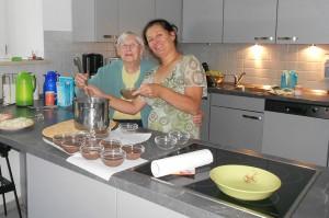 Kochgruppe in der Tagespflege Bad Reichenhall