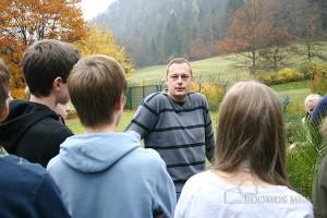 """Diplom-Psychologe Christian Perschl erklärte die """"offene"""" und die """"beschützende Unterbringung""""."""