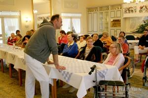Italienischkurs für die Bewohner in Bayerisch Gmain