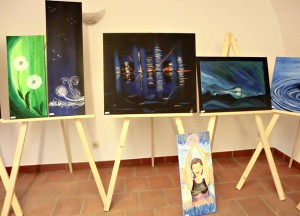 Kunst in Tittmoning, Blaues Haus