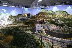 Gigantische Modelleisenbahn im Hans-Peter Porsche TraumWerk in Anger/Aufham